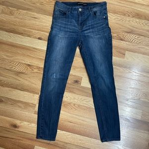 Express High Rise Ankle Legging Jeans 8